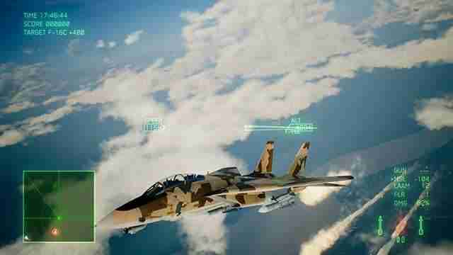 Ace Combat 7 Skies Unknown Вспышки
