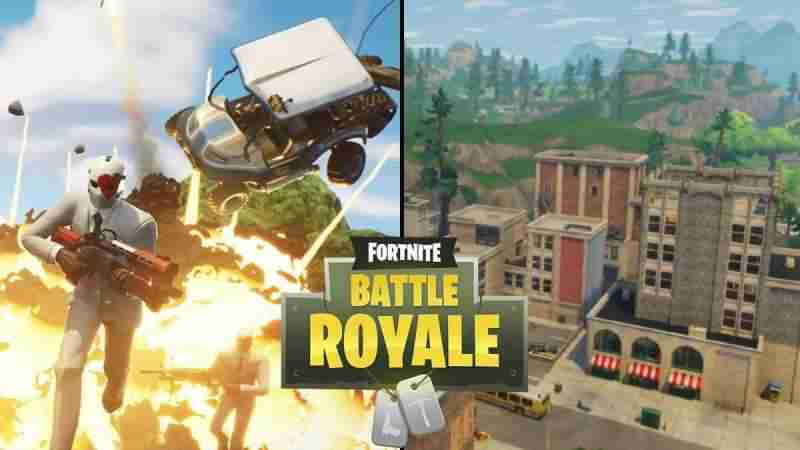 Экспедиции Fortnite Battle Royale