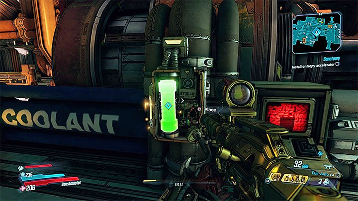 Regardless of whether you made a purchase or not, Earl will throw Entropy Accelerator out of storage - Sanctuary | Borderlands 3 Walkthrough - Main Quests - Borderlands 3 Guide
