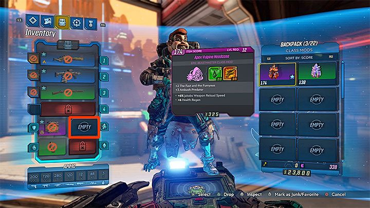 You also unlock access to Class Mods which can increase certain skills - Hostile Takeover | Borderlands 3 Walkthrough - Main Quests - Borderlands 3 Guide